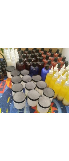 12  SETS OF HAIR PRODUCTS