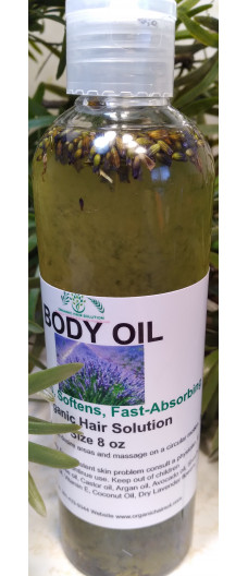 BODY OIL WITH LAVENDER