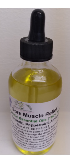 PAIN RELIEF OR SORE MUSCLE RELIEF OIL