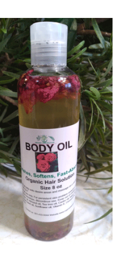 BODY OIL WITH ROSE